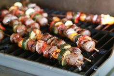 Surprise the man in your life with Bratfest in Bed. These Grilled Bratwurst Kabobs served on a tray with the television remote is a recipe for success!