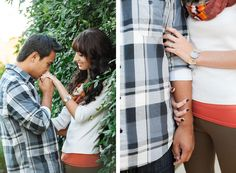 sun-drenched engagement session. Photo by Elyse Alexandria.