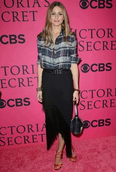 The Olivia Palermo Lookbook : Olivia Palermo at the Victoria's Secret Fashion Show