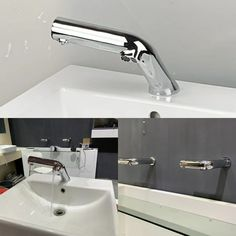 Automatic soap dispenser and faucet. 2 in 1 product, brand new design.