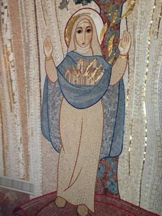 Our Lady, Mother of the Church. From the Chapel of the Irish College, Rome. via @PaddyBanville