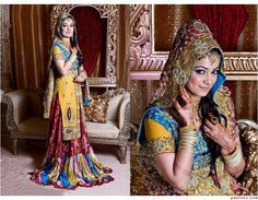 Pakistani Wedding Dresses | Pakistani Bridal Dresses For Wedding 2014 11