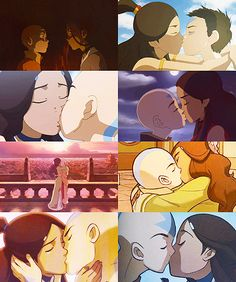 all der kisses. even the dream one...OOOOGGIIIESS :3 <3