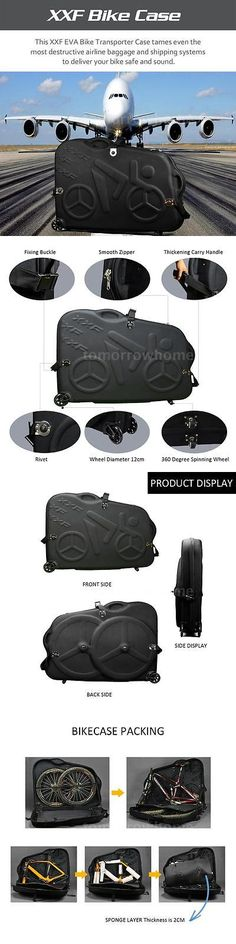 Bicycle Transport Cases and Bags 177835: Eva Bicycle Bike Mtb Transport Hard Case Racing Mountain Travel Bag Box Th M4r6 -> BUY IT NOW ONLY: $289.56 on eBay!