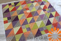 great colors  Machine Quilting for Spring 2013 Quilt Market