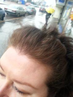 Hiukset värjäyksen jälkeen 3