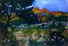 Garden Path Edvard Munch - 1902-1903