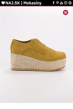 Žlté mokasíny na platforme Corina Tommy Hilfiger, Espadrilles, Gucci, Platform, Wedges, Shoes, Fashion, Espadrilles Outfit, Moda