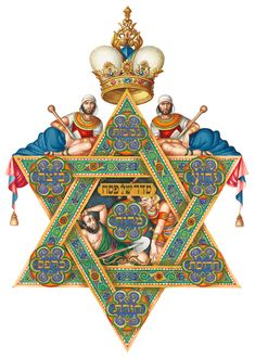 The Seder Plate by A. Szyk I saw this haggadah when I was in San Francisco--it was beautiful!