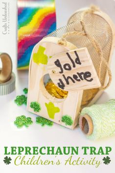 Need a fun & educational St. Patrick's Day craft to do with your kids? The luck of the Irish must be with you- I'll show you how to make a Leprechaun Trap!