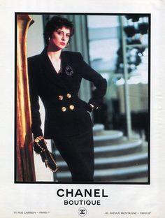 Chanel (Boutique) 1986 Inès de la Fressange