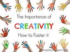 Why is creativity important? Creativity should not be underestimated. Creativity in children is so important. Creativity helps teach cognitive skills such as mathematics and scientific thinking. Creative thinking involves imagination, basic use of the scientific method, communication, physical dexterity and exertion, problem posing, problem solving, making interpretations, and using symbols which[Read more]