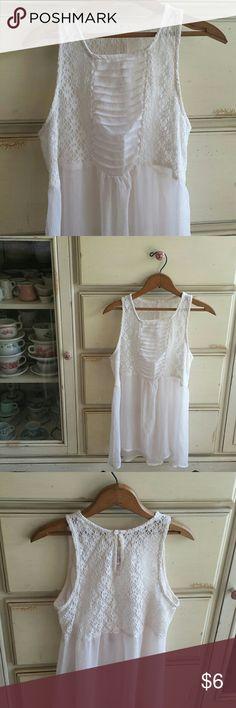 Romantic blouse. Closet clean out. Tops Tank Tops