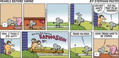 I want to do this each and every time someone pokes me on FB!! -- Pearls Before Swine on Gocomics.com