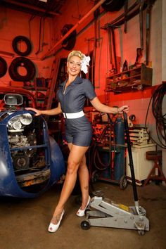 Pinup, Auto Style!