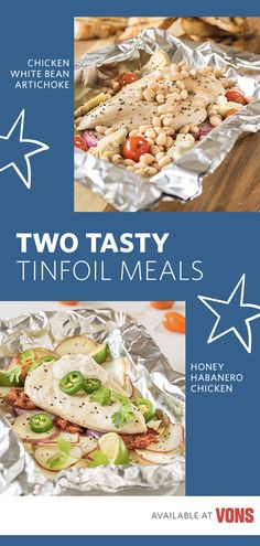 Simplify your summer dinner routine with these two tasty tinfoil packet recipes! Both feature Signature