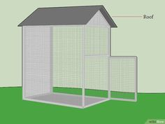 How to Build an Aviary: 12 Steps (with Pictures) - wikiHow #buildaviary #howtobuildanaviary