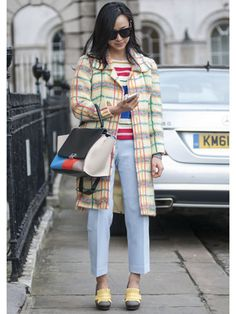 Day 3 Street Style at London Fashion Week