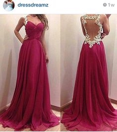 Beautiful prom dress... Where was this last year when I was going to prom