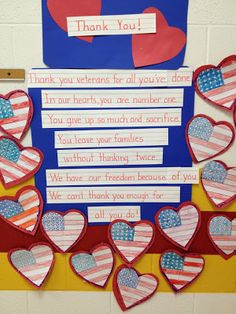 My First Grade Backpack: Thank You to our Veterans!