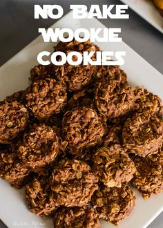 perfect for a star wars birthday party these no bake wookie cookies are easy and delicious