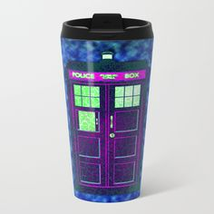 Tardis With Abstract - $24