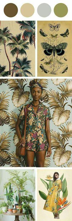 Maillot de bain : #houseofvdm Tropical Jungle #Luxurydotcom