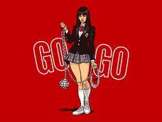 Gogo T-Shirt - Kill Bill T-Shirt is $17 at TeeFury!