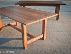 Carolina Harvest table handmade in NC from reclaimed timber, Brand Mojo Interiors, Archdale, NC