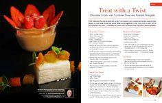 cumbriafoodie recipe Roasted Pineapple, Chocolate Cream, Dessert Recipes, Desserts, Cantaloupe, Treats, Fruit, Cooking, Food