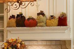 Great Fall decorating idea! by lesa