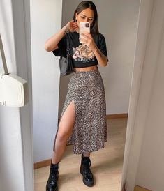 Cute Casual Outfits, Stylish Outfits, Casual Dresses, Summer Outfits, Mode Outfits, Skirt Outfits, Fashion Outfits, Style Personnel, Aesthetic Clothes