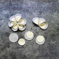 flower tutorial for garland