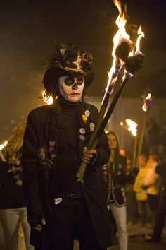18 seriously dark pictures from Lewes Bonfire Night