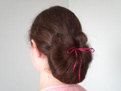 Civil War Little Women Inspired Hairstyle