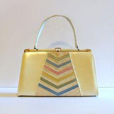 1950s Pastel Handbag