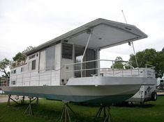 1972 - Stardust Cruisers - 42 for Sale in Ottawa, IL 61350 - iboats.com House Boats For Sale, Cruiser Boat, Dinghy, Large Photos, Ottawa, Outdoor Decor, Bedroom, Boat House, Canisters