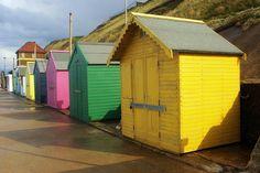 Beach huts, Sheringham.