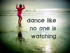 Bring some joy and laughter into your life today and dance like no one is watching. When I dance, it certainly brings laughter - it's something about you've got to have rhythm! En-Joy! http://www.facebook.com/vickismithmedium