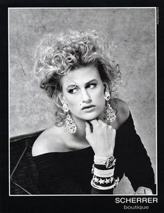 Jean-Louis Scherrer (Jewels) 1989 Photo Bettina Rheims