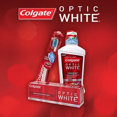 Save $1 on select Colgate Optic White products. While supplies last.