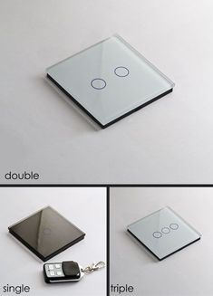 touch sensitive, remote controlled light switches