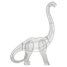 My design inspiration: Wire Dinosaur Brontosaurus by  Fab. $65.