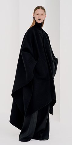 2016 FW – LOOK | HYKE Dark Fashion, Minimal Fashion, Winter Fashion, Witchy Outfit, Fashion Outfits, Womens Fashion, Fashion Brands, Women Wear, Street Style