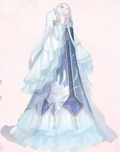 Lonely Night | Love Nikki-Dress UP Queen! Wiki | FANDOM powered by Wikia Dress Design Drawing, Dress Drawing, Drawing Clothes, Anime Outfits, Mode Outfits, Mode Lolita, Anime Girl Dress, Fantasy Gowns, Dress Sketches