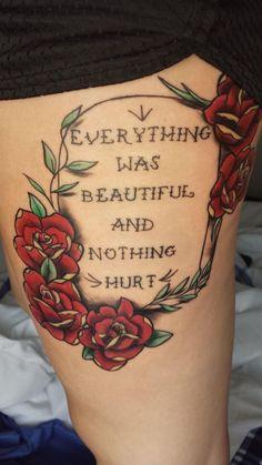 """Literary tattoos- An ode to Kurt Vonnegut's """"Slaughterhouse-Five"""""""
