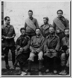 Brigadistas prisioneiros, homes con ideales e poucas posibilidades.