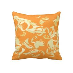 Abstraction Throw Pillows