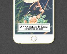 Succulent Floral Snapchat Geofilter // Custom by MaddieMaeCreative