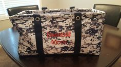 Thirty-one Large Utility Tote is perfect for your busy sports mom. Large Utility Tote. Digital Camo
